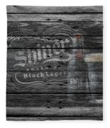 Shiner Black Lager Fleece Blanket