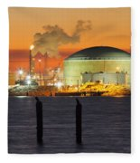Shiny Refinery #3 2am-27808 Fleece Blanket