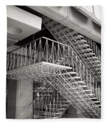 Shiodome Tokyo Stairs Fleece Blanket