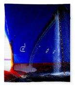 Ship - Gulf Of Mexico Fleece Blanket