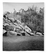 Ship Rock Island Fleece Blanket