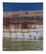 Ship Rust 4 Fleece Blanket