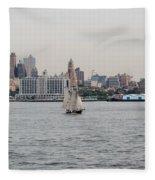 Ships And Boats Fleece Blanket