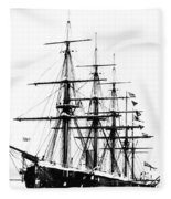 Ships Hms 'agincourt Fleece Blanket
