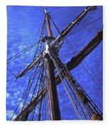 Ships Rigging - 2 Fleece Blanket