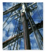 Ships Rigging Fleece Blanket