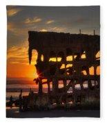 Shipwreck Sunburst Fleece Blanket