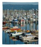 Shipyard Fleece Blanket