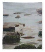 Shirley's Dog Fleece Blanket