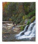 Shoal Creek Area Waterfalls Fleece Blanket