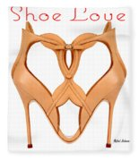 Shoe Love Fleece Blanket