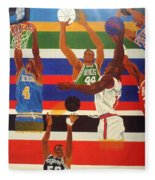 Shoots N Hoops Fleece Blanket