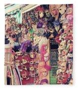 Shop In Venice Fleece Blanket