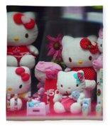 Shop Window Spain Fleece Blanket