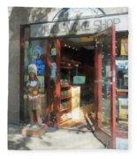 Shopfronts - Smoke Shop Fleece Blanket