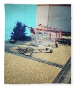 Shopping Trolleys  Fleece Blanket