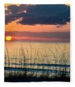 Shore To Eternity  Fleece Blanket