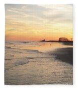 Shoreline Nj Fleece Blanket
