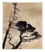 Shoreline Struggle Fleece Blanket