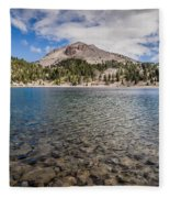 Shores Of Helen Lake Fleece Blanket