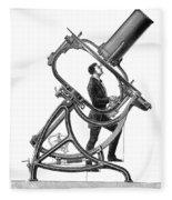 Short-focus Telescope, 1881 Fleece Blanket