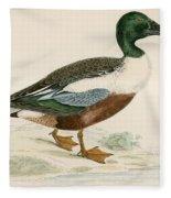 Shoveler Fleece Blanket
