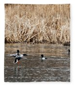 Shoveler Landing Fleece Blanket
