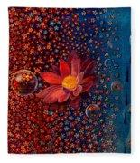 Showers To Flowers Fleece Blanket