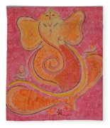 Shree Ganesh Fleece Blanket