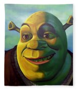 Shrek Fleece Blanket