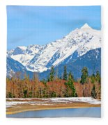 Shuksan Fleece Blanket