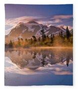 Shuksan Sunrise Fleece Blanket