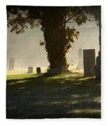 Sibley Cemetery Fleece Blanket