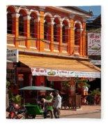 Siem Reap 01 Fleece Blanket