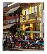 Siem Reap 03 Fleece Blanket