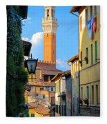 Siena Streets Fleece Blanket