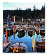 Sierra Boat Company Fleece Blanket