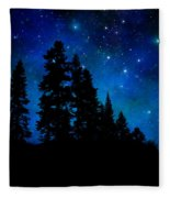 Sierra Foothills Wall Mural Fleece Blanket
