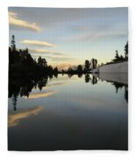 Sierra Reflection II Fleece Blanket