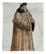 Sigismund Von Herberstein (1479-1533) Fleece Blanket