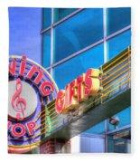 Sign - Swing Shop - Jazz District Fleece Blanket