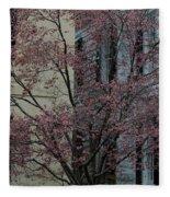 Signs Of Spring Fleece Blanket