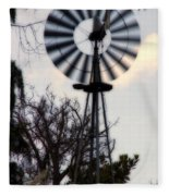 Signs Of The Approaching Storm Fleece Blanket