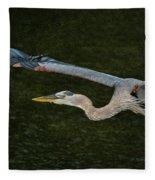 Silence In The Wings Fleece Blanket