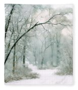 Silence Of Winter Fleece Blanket