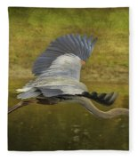 Silent Grace Fleece Blanket