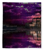 Silent River Fleece Blanket