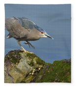 Silent Steps Fleece Blanket
