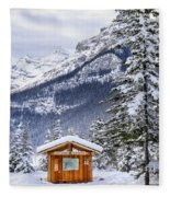 Silent Winter Fleece Blanket