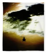 Silhouette Cloud Fleece Blanket